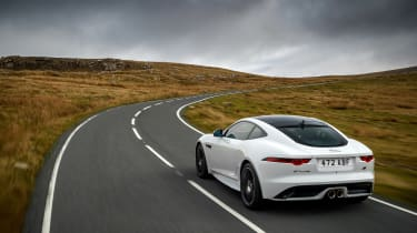 Jaguar F-Type Chequered Flag edition - rear quarter