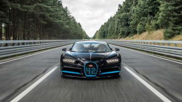 Bugatti Chiron '42' record breaker - front
