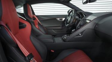 Jaguar F-type Coupe R interior