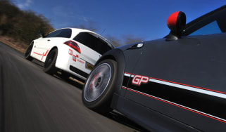 Renaultsport Megane R26.R vs Mini John Cooper Works GP