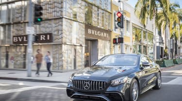 Mercedes-AMG S36 Coupe - front static