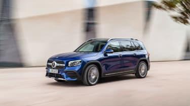 Mercedes GLB revealed - front quarter