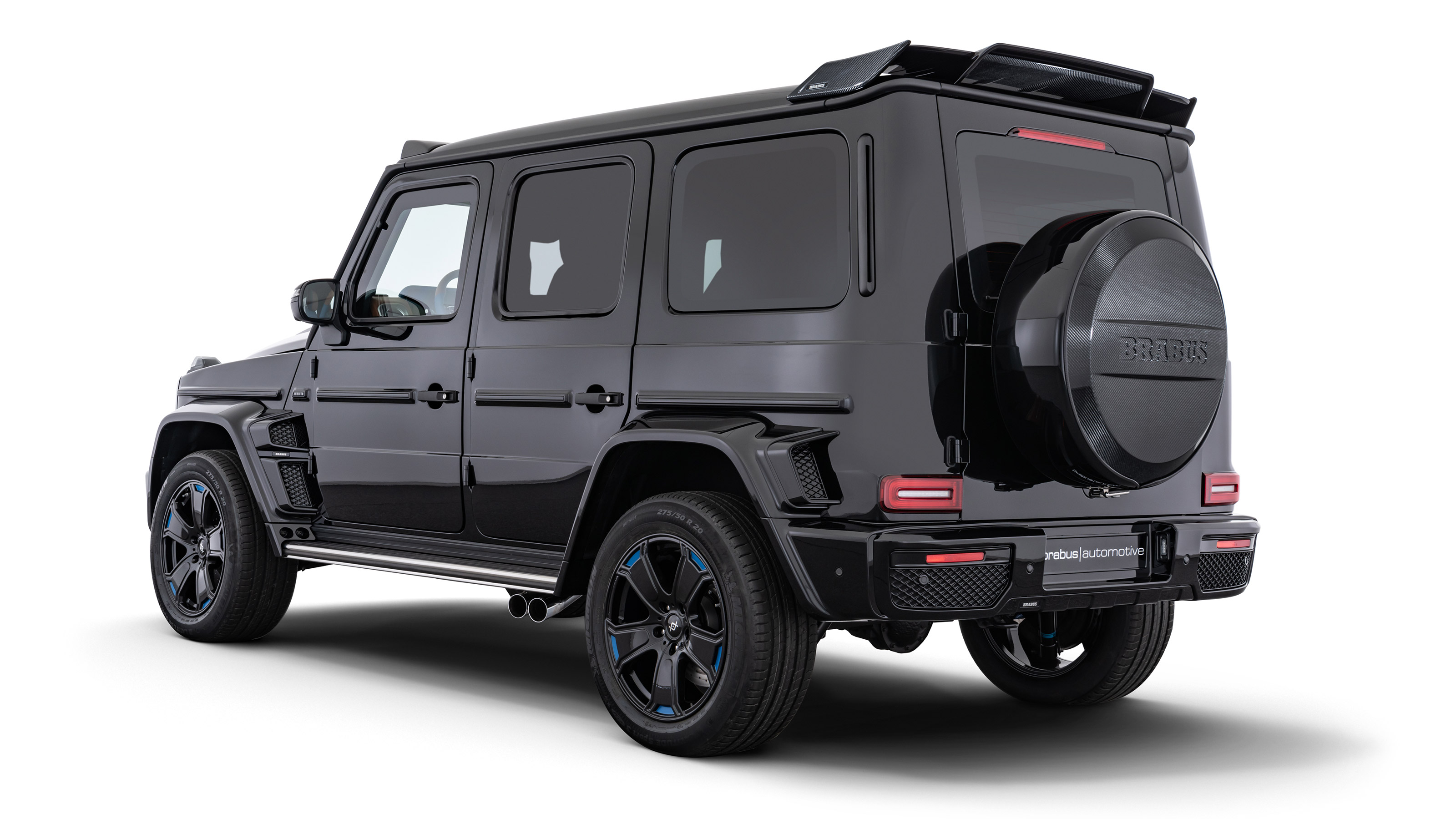 Brabus S Armoured Mercedes Amg G63 Is An Oligarch S Dream Evo