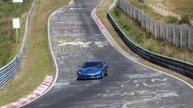 Corvette Stingray Nurburgring test