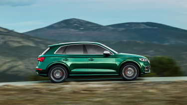 Audi SQ5 TDI 2019 - side