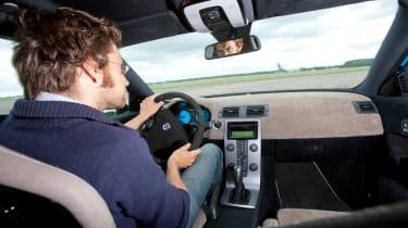 Audi RS3 Sportback v Volvo C30 Polestar drag race video
