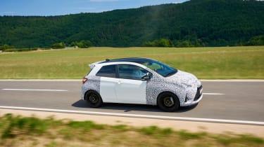 Toyota Yaris GRMN - side tracking