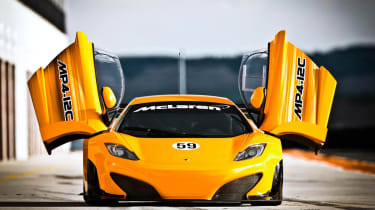 McLaren MP4-12C GT3 racing car: new pictures and video