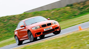 BMW 1-series M Coupe track