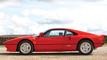Ferrari 288 GTO side profile