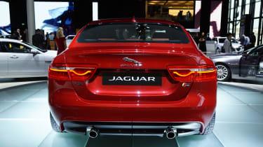 Jaguar XE rear end