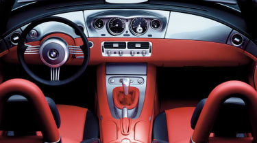 BMW Z8 – cabin