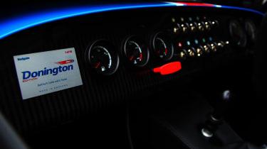 Caterham Seven Donington Edition - Dash