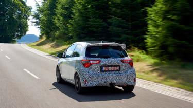 Toyota Yaris GRMN - rear tracking