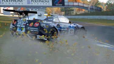 Gran Turismo 6 screenshot Nissan GT-R slide drift