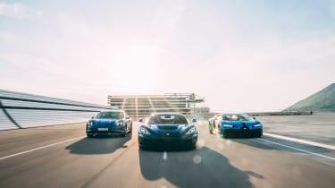 Bugatti-Rimac – tracking