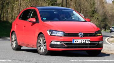 VW Polo spy front