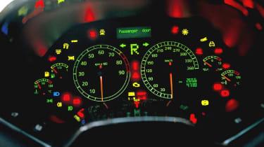 Lamborghini Murcielago instrument display