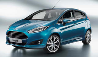 2013 Ford Fiesta 5 door front