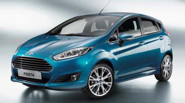 2013 Ford Fiesta 5 door front