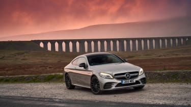 Mercedes-AMG C43 Coupe 2018 review - front static
