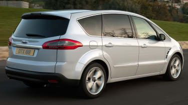 Ford S-MAX rear action