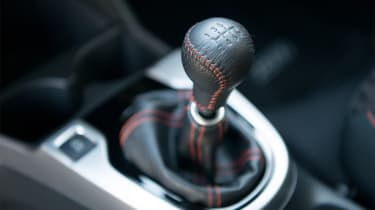 Honda Jazz Sport – gear lever