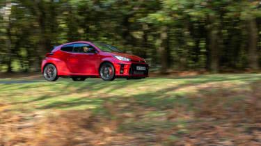 2020 Toyota GR Yaris Red - pan 1