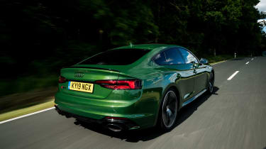 Audi RS5 Sportback review - rear quarter
