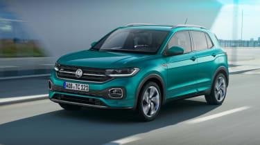 Volkswagen T-Cross revealed - front quarter