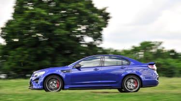 Vauxhall VXR8 GTS-R blue - UK car profile 2