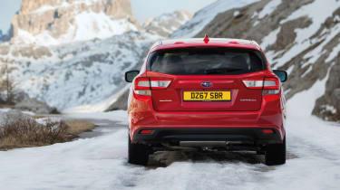 Subaru Impreza Hatch - tail