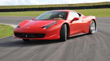Ferrari 458 Italia V8 engine recall