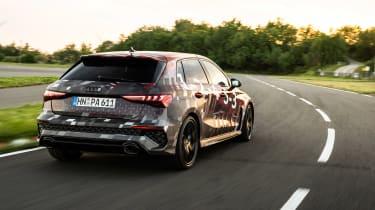 Audi RS3 mule 2020 SB – rear2
