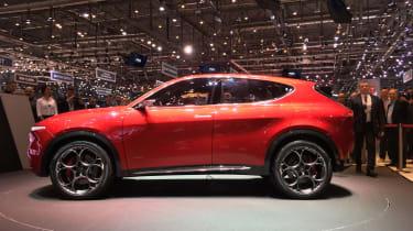 Alfa Romeo Tonale - profile