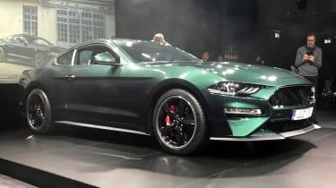 Ford Mustang Bullitt – side