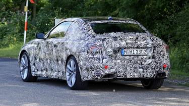 2021 BMW 2-series spy – rear
