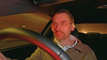 John Barker in Vauxhall Monaro VXR 500