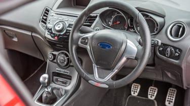 Ford Fiesta ST interior dashboard