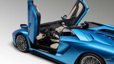 Lamborghini Aventador S Roadster - doors