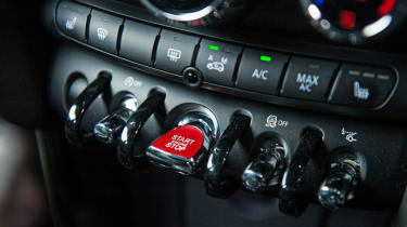 Mini Cooper S start stop button