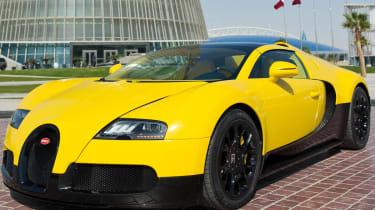 Special edition Bugatti Veyron at Qatar