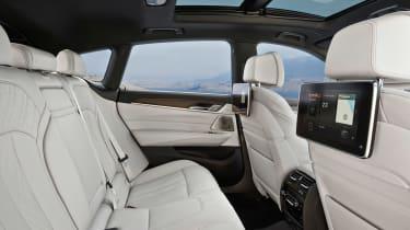 BMW 6-series GT - interior rear
