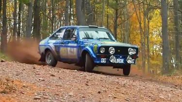 Video: Ken Block drives rally mk2 Ford Escort