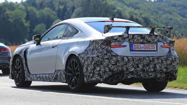 Lexus RC F GT spy - rear qaurter