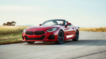 BMW Z4 M40i red - front