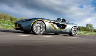 Aston Martin CC100 driving