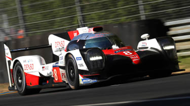 Le Mans 2017 - Toyota driving