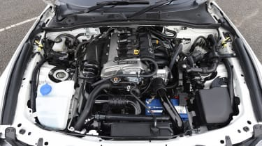 Mazda MX-5 BBR 1.5-litre turbo upgrade –  engine bay