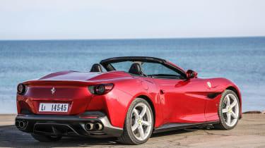 Ferrari Portofino - rear roof down